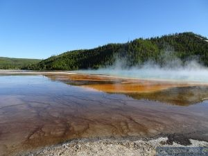 Grand Prismatic Springs Yellowstone NP USA