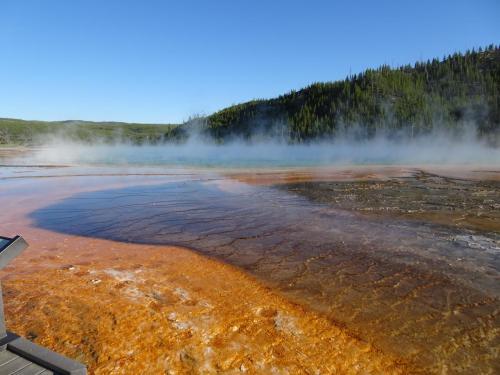 Grand Prismatic Spring Yellowstone National Park USA